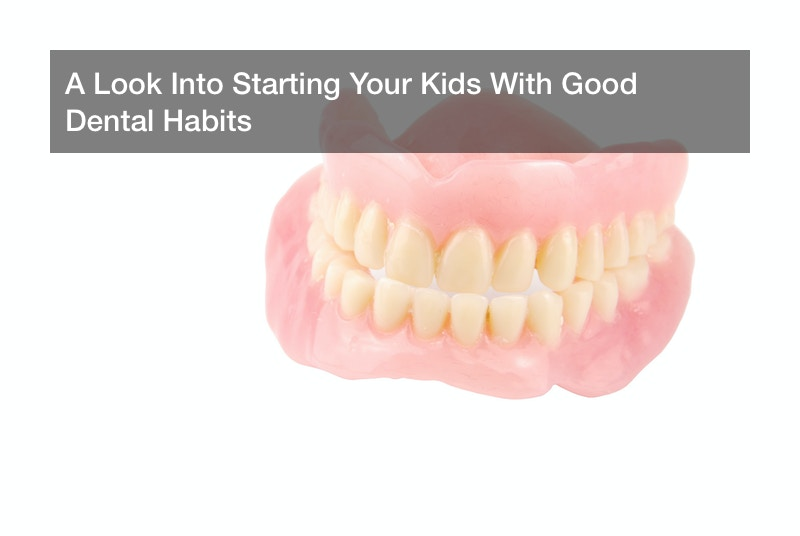 A Look Into Starting Your Kids With Good Dental Habits